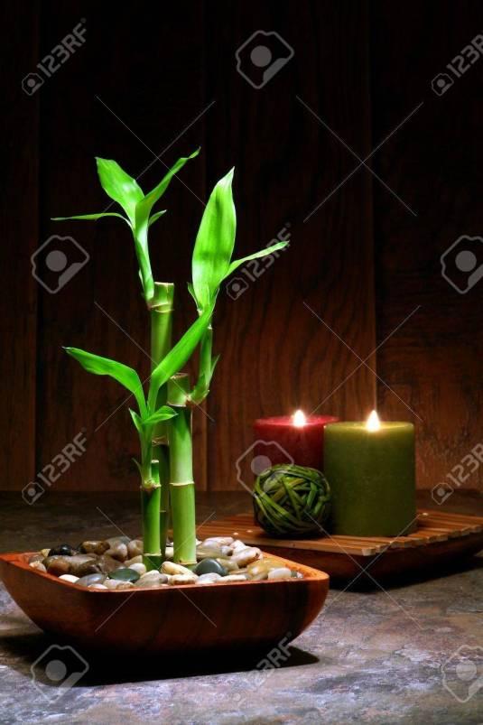 10328681-asian-scene-di-ispirazione-zen-relax-con-bambù-taglio-deriva-in-una-ciotola-di-legno-e-luce-soffusa-cand